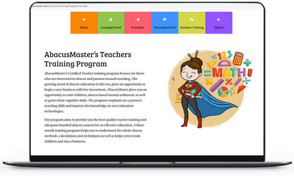 AbacusMaster introduces Teachers Training Programme